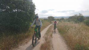 Bike ride around Trujillo.